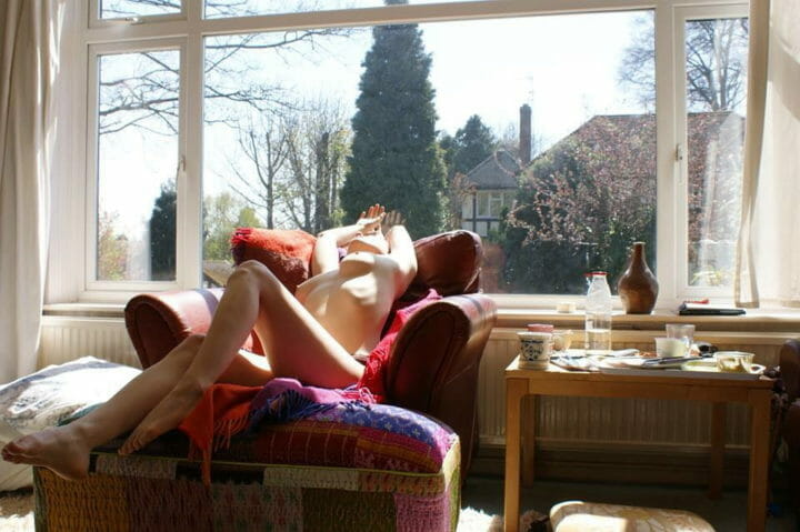 Lazy day, I wanted the sun to pull me up and kiss my inside… by Heather